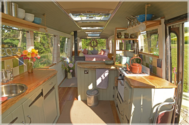 The Majestic Bus Converted Bedford Panorama Glamping