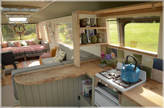 The Majestic Bus Converted Bedford Panorama Bus Glamping